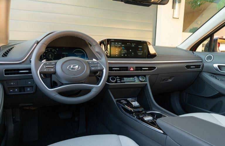 2021 Hyundai Sonata dashboard
